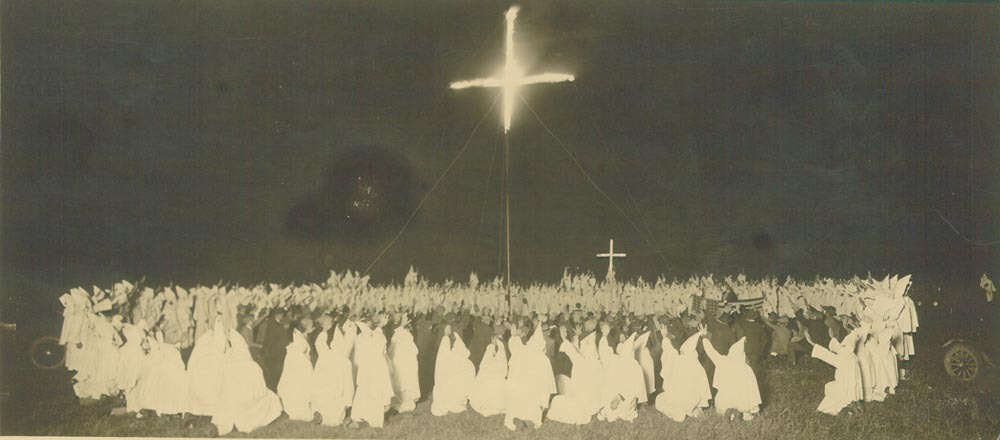 kkk cross burning ritual